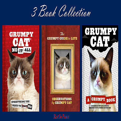 The Grumpy Cat Collection: No It All + Grumpy Guide + A Grumpy Book PDF R.I.P