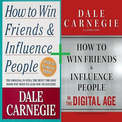 🔥How to Win Friends and Influence People by Dale Carnegie + Digital Age HD PDF