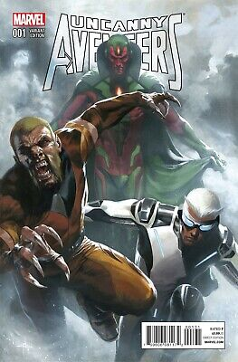 Uncanny Avengers # 1 1:25 Dell'Otto Variant NM