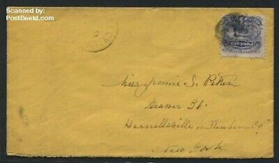 United States of America 1870 Envelope with 3c stamp (locomotive) suss!870a