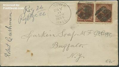 United States of America 1895 Letter to Buffalo, New York suss!895