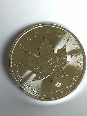 Maple Leaf 2015 Dollars Canada 1 Oz Once Cad Piece Argent Silver 999,9/1000