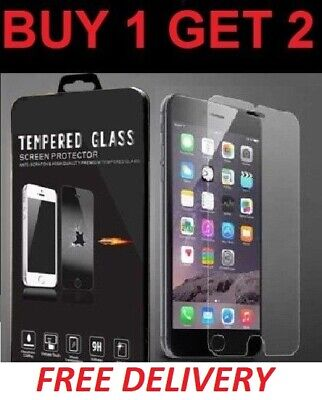 Screen Protector For Apple iPhone 8 - Tempered Glass 100% Genuine New