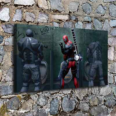 """12""""x18""""Marvel Deadpool HD Canvas prints Paintings Home Decor Picture Wall art"""