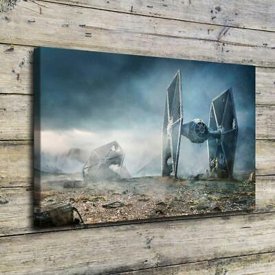 "Star Wars HD Canvas prints Painting Home Decor Picture Room Wall art 14""x24"""
