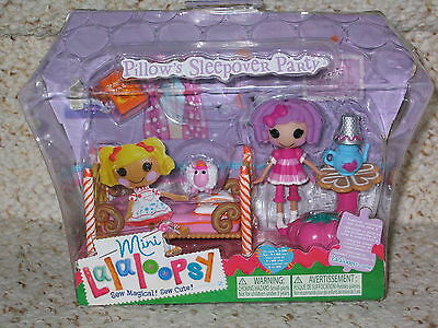 New Lalaloopsy Minis Princess Castle Double-sided Playset /& Figures Official