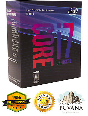 Intel Core i7-8700K Desktop Processor 6 Cores up to 4.7GHz Turbo Unlocked LGA115