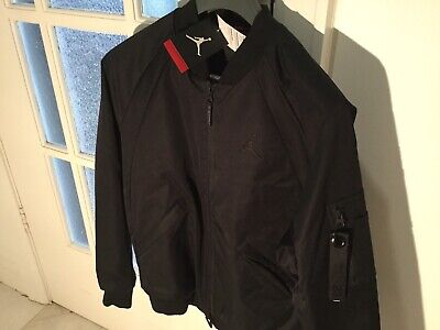 Nike Air Jordan Black Insulated Bomber Jacket M