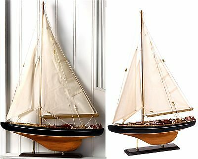 "BERMUDA TALL MODEL SAILING SHIP SCULPTURE *16.5""x24.2""-Sailor's Gift* NIB"
