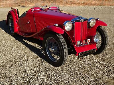 Mg Tc 1949 Restored By Previous Owner To High Standard
