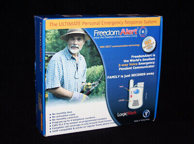 LogicMark 35511 Freedom Alert Emergency Alert System, NEW!