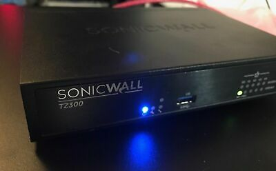 Sonicwall Tz 300 + 3.5 Year Comprehensive Anti-Spam + Transfer Ready