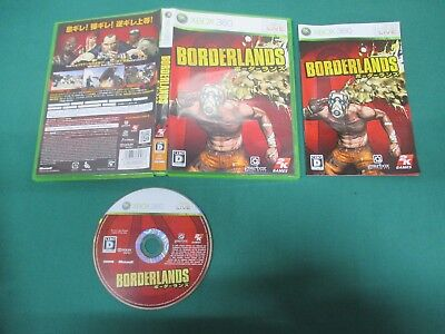 Xbox360 -- BORDERLANDS -- JAPAN. GAME. Work. 55200