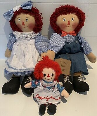 Raggedy Ann And Andy, Rag Doll Lot, Applause, New