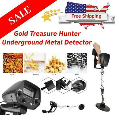 Gold and Silver MD-4030 Pro Edition Hobby Explorer Waterproof Metal Detector Kit