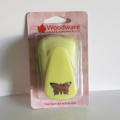 """Woodware Craft Paper Punch Approx 1"""" Butterfly"""