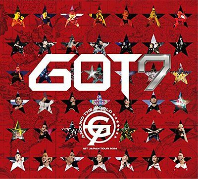 GOT7 1st Japan Tour 2014 AROUND THE WORLD in MAKUHARI MESSE First DVD?photo book