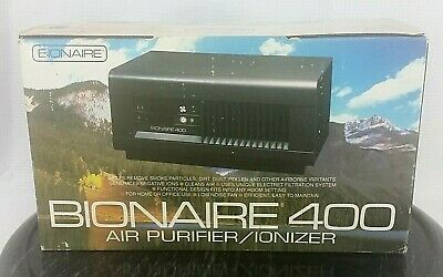 TESTED BIONAIRE F-250 Air Purifier Ionizer Filter Cleaner
