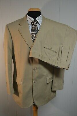 Brooks Brothers 346 Men's 3 Front Button Suit Sz 43R Wst 36X30