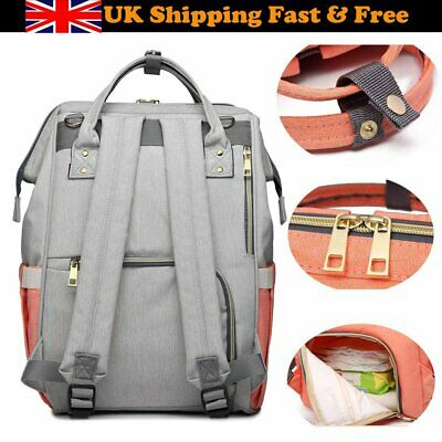 Mummy Maternity Nappy Diaper Bag Waterproof Nursing Backpack Baby Care Backpack