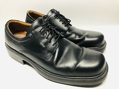 37a7d98146 Ecco City Black Leather Oxfords Shoes Mens EU 47 (US 14) Waterproof Goretex