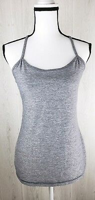 da2dc9906ddb95 LULULEMON WOMENS POWER Y TANK TOP Two-Tone BLUE GRAY YOGA TANK Shelf ...
