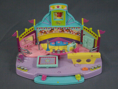 Vintage 1999 Polly Pocket Magnetic Gymnastics Playset NO DOLLS