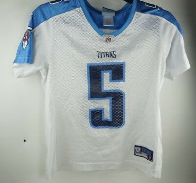 4a1b3b1347d7 KERRY COLLINS TENNESSEE Titans Jersey Sewn home Reebok Size 50 ...