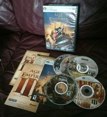 AGE OF EMPIRES 3 III PC & Napoleon Total War Limited Edition