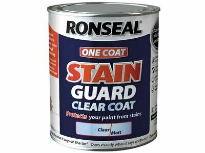 Ronseal - One Coat Stain Guard Clear Coat Matt 750 ml
