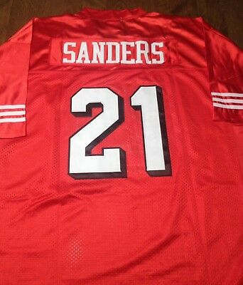 2bc05bd958dcb DEION SANDERS SAN Francisco 49ers Majestic Hall of Fame Eligible ...