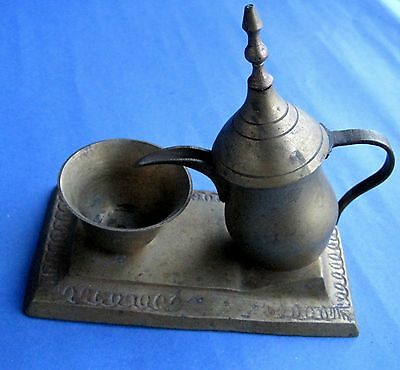 TURKISH ORNAMENTAL BRONZE & BRAS /  Kettle