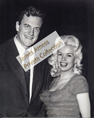James Arness Gunsmoke Marshal Dillon With Jayne Mansfield  8 x 10  B/W Photo