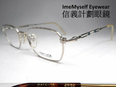 89e5c4843d5a   ImeMyself Eyewear   Matsuda 2882 Vintage Farme Optical full-rim eyeglasses
