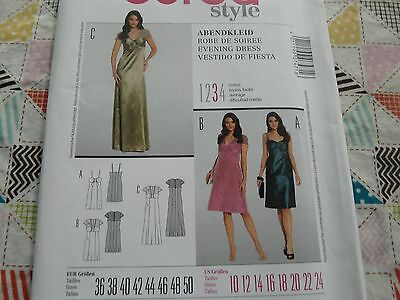 BURDA DRESS /& TUNIC SEWING PATTERN MISSES/' SEMI FITTED # 7379 SIZES 8 THRU 20