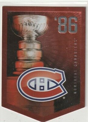 2012 Panini Molson Coors Light Stanley Cup Banner Card.  Pick any one you Need.