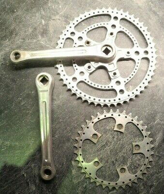 Stronglight 49D Cyclotouriste Double chainset Pro 5 Vis SunXCD 50.4BCD//T.A