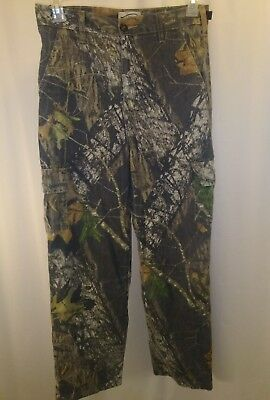 38d6584a470e0 YOUTH BOYS FIELD Staff Mossy Oak Camo Pants Size XL Good Condition ...