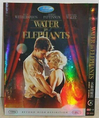 Water For Elephants Blu-ray Disc Reese Witherspoon Robert Pattinson