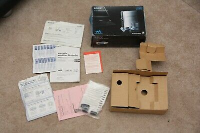 SONY MZ NH1 Hi-MD Retail Box Packing Instructions ONLY