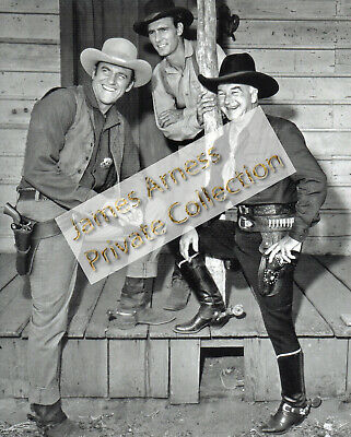 James Arness Gunsmoke Marshal Dillon Rare With Hopalong Cassidy