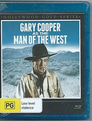 Man Of The West Blu Ray (Gary Cooper) New & Sealed Region B Free Post