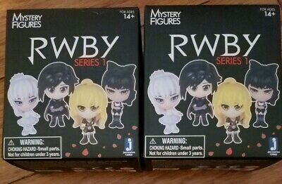 LoT of 2 RWBY Mystery Figures Series 1 BOTH new in box