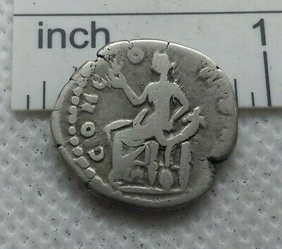 Authentic  Ancient ROMAN SILVER COIN denarius  FAUSTINA II  c.161-175 AD  #227