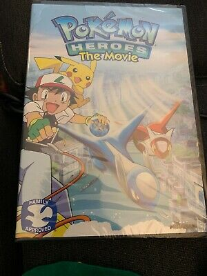 Pokemon Heroes: The Movie DVD NEW SEALED