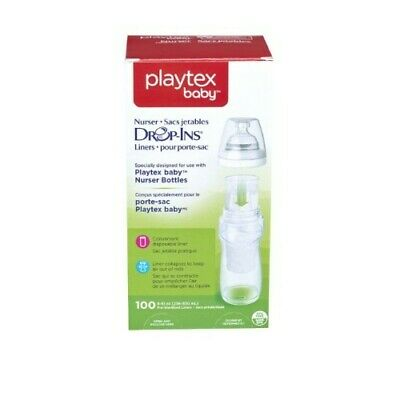 Playtex Baby Nurser Drop Ins Baby Bottle Disposable Liners Closer to Breastfeed