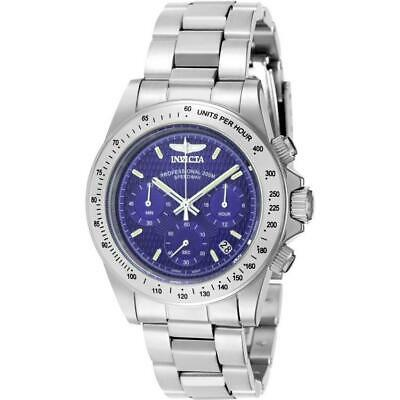 Invicta Signature Collection 7027 Men's Speedway Blue Dial Chronograph Watch