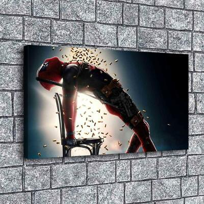 """12""""x22""""Deadpool Painting HD Print on Canvas Home Decor Room Wall Art Picture"""