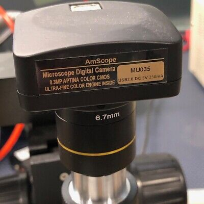 AmScope MU035 Still Photo and Video Microscope Camera USB2.0