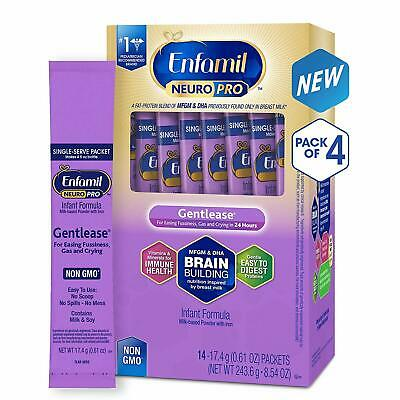 Enfamil NeuroPro Gentlease Infant Formula - 17.6g (56 packets) - Exp 02/2020